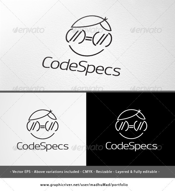 Code Specs Logo  - Humans Logo Templates