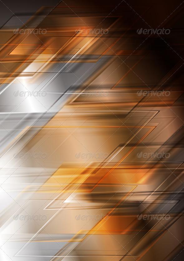 Bright hi-tech vector background - Backgrounds Decorative