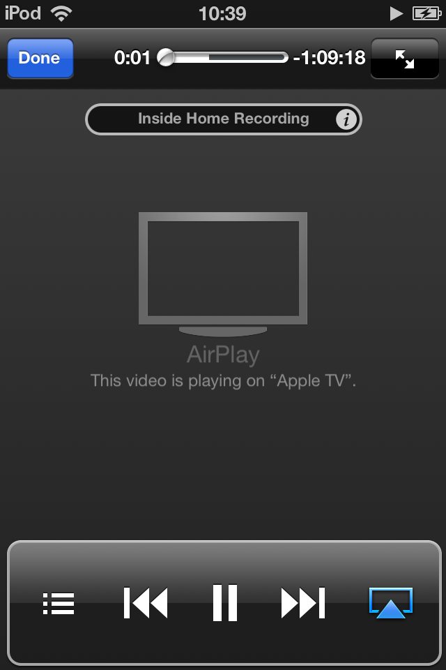 Podcast Player - AirPlay support
