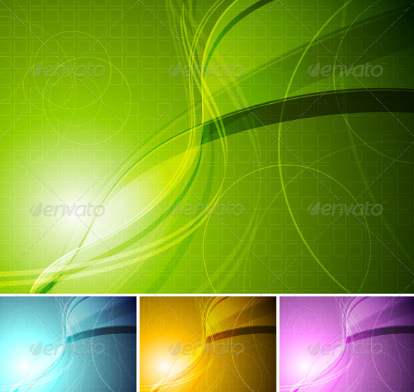 Colourful stylish backgrounds - Abstract Conceptual