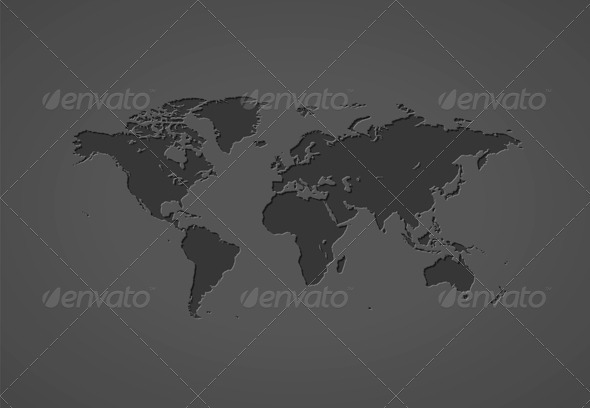 Map Of The World - Miscellaneous Conceptual