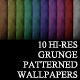 10 Hi-Res Grunge Wallpaper Patterns - GraphicRiver Item for Sale