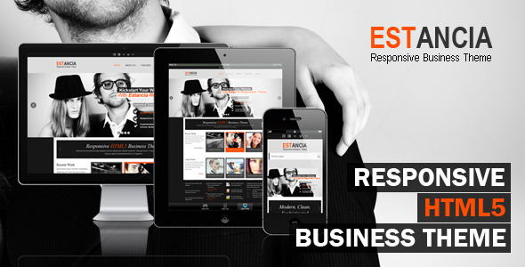 Estancia - Responsive HTML 5 Theme