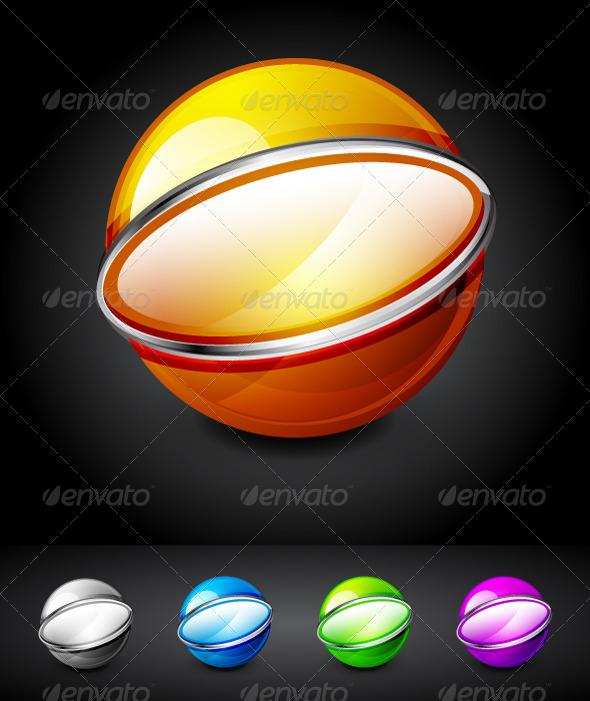Hi-tech 3D Spheres