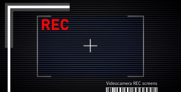 VideoHive Videocamera Rec Screen 3063412