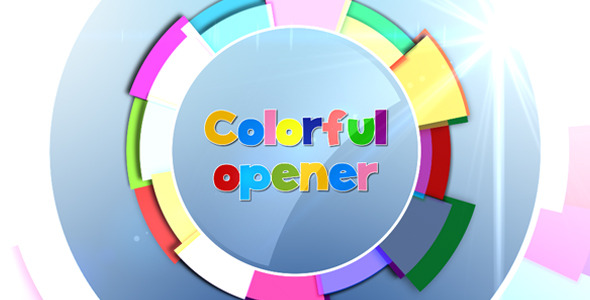 After Effects Project - VideoHive Colorful Opener 3063496