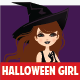 Manga Halloween Girl - GraphicRiver Item for Sale