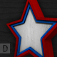 3D Patriotic Wood Stars - GraphicRiver Item for Sale