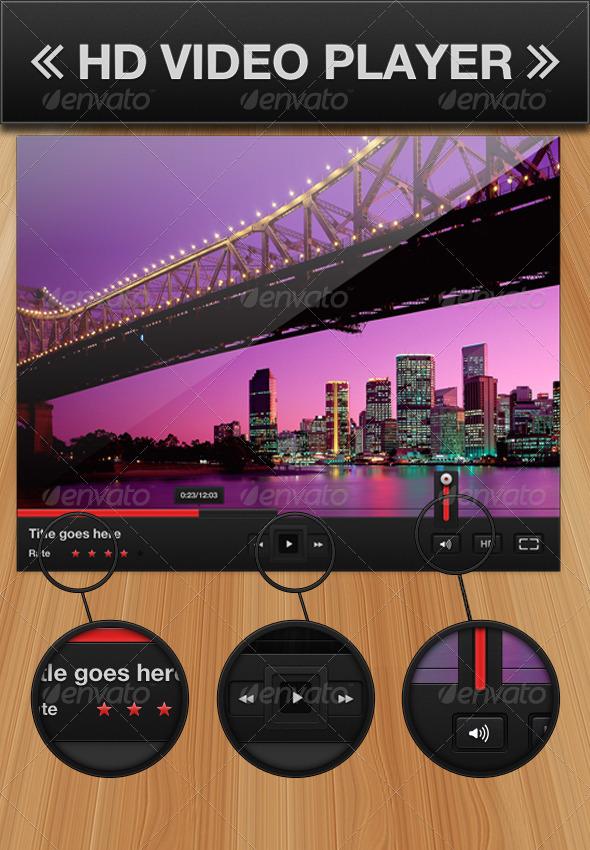Video Player - Web Elements