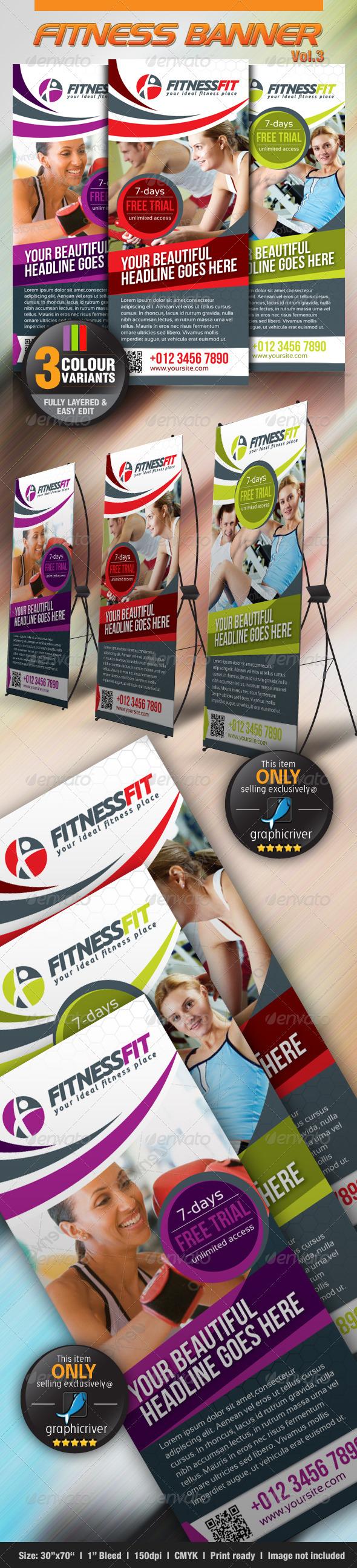 GraphicRiver Fitness Banner Vol.3 3065693