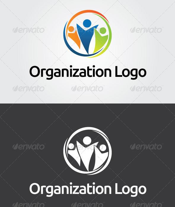 Organization Logo Template - Vector Abstract