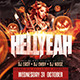 HELLYEAH Flyer Template - GraphicRiver Item for Sale