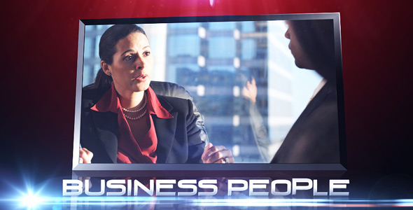Business People VideoHive -   Video Displays  3D Object 108997