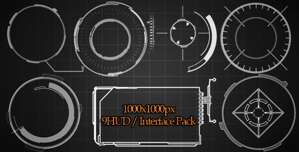 9 HUD Interface Pack