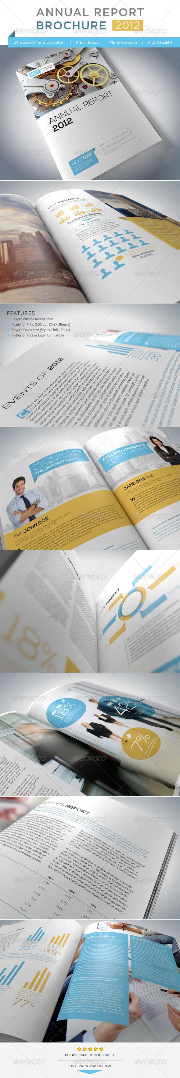 GraphicRiver Annual Report Brochure 3068824