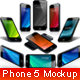 Phone 5 Display Mockup - GraphicRiver Item for Sale