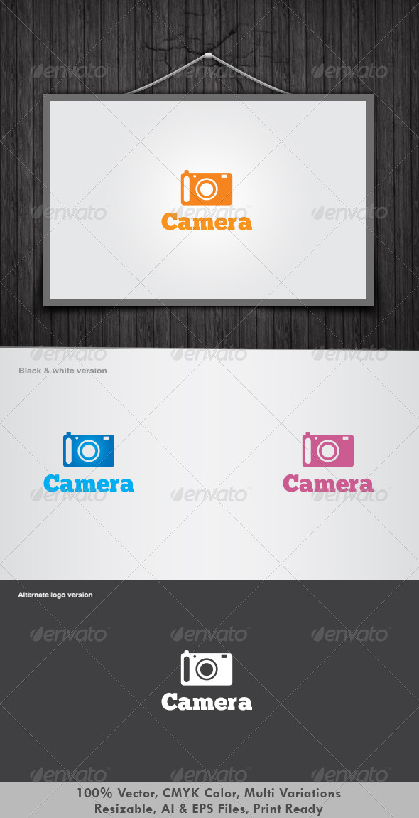 Camera-Logo by dotnpix - Symbols Logo Templates
