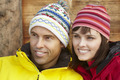 Middle Aged Couple Dressed For Cold Weather - PhotoDune Item for Sale