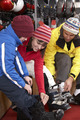 Family Trying On Ski Boots In Hire Shop - PhotoDune Item for Sale