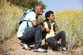 Father and son on country hike - PhotoDune Item for Sale