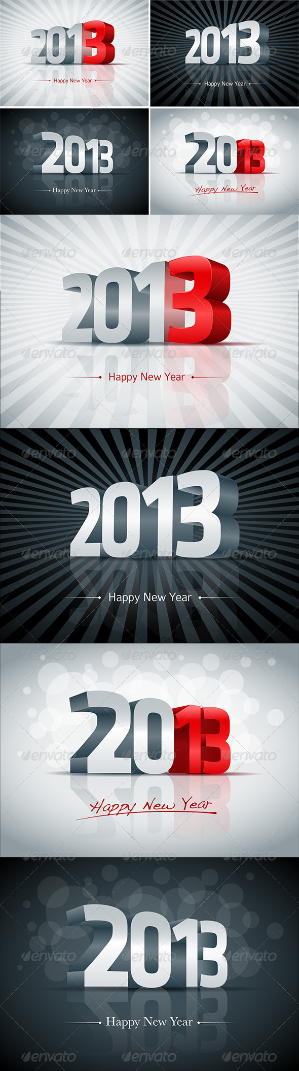 GraphicRiver 3D 2013 Set 3070806