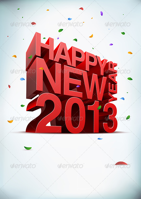 GraphicRiver Happy New Year 2013 3070812