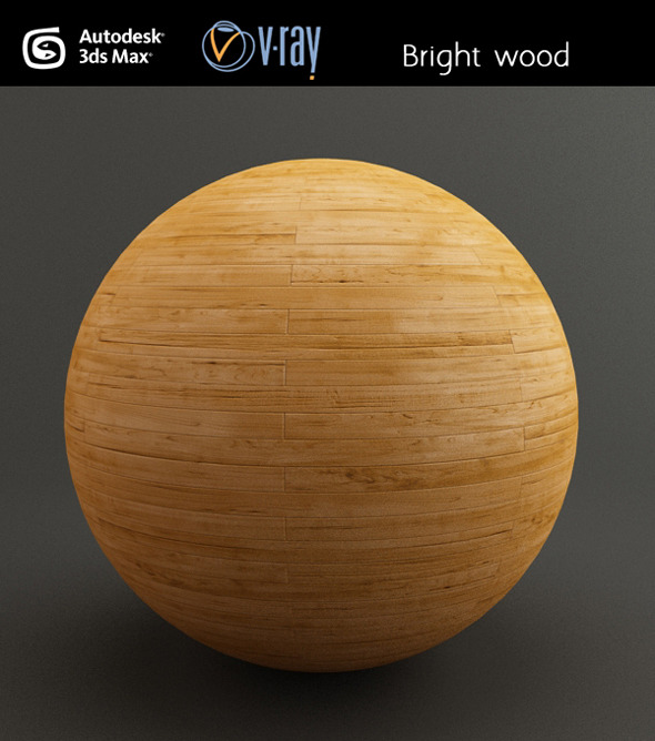 Bright wood - 3DOcean Item for Sale