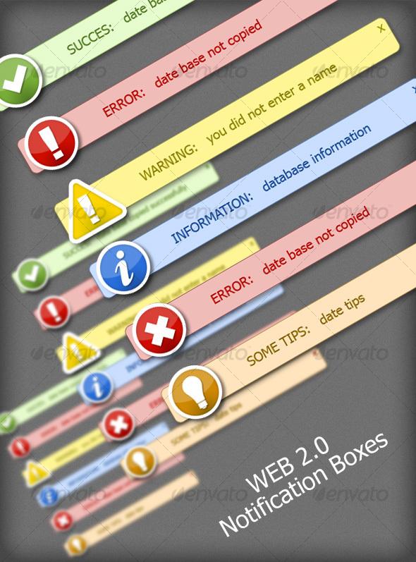 GraphicRiver Web 2.0 Notification 109087