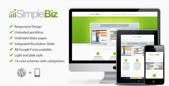 SimpleBiz - WP Responsive Theme