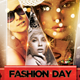 Fashion Day V2 Flyer Template - GraphicRiver Item for Sale