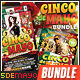 Cinco De Mayo Flyer Bundle - GraphicRiver Item for Sale