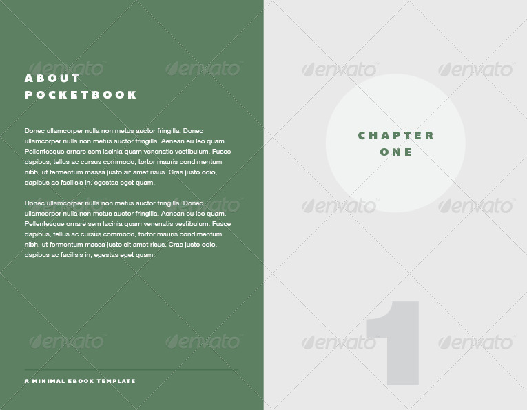 pocket book ebook template by furnace graphicriver. Black Bedroom Furniture Sets. Home Design Ideas