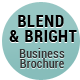 Blend & Bright - Professional Business Brochure - GraphicRiver Item for Sale