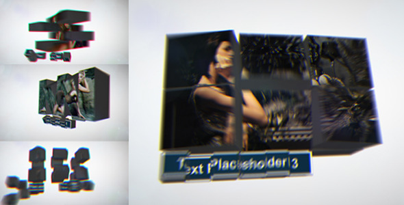 After Effects Project - VideoHive Dynamic Cube Slideshow 3075783