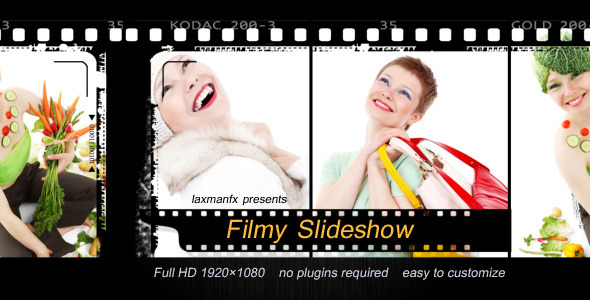 After Effects Project - VideoHive Filmy Slideshow 3075959