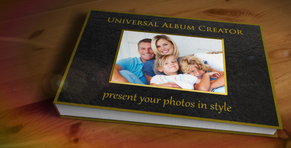 After Effects Project - VideoHive Universal Album Creator 3076090
