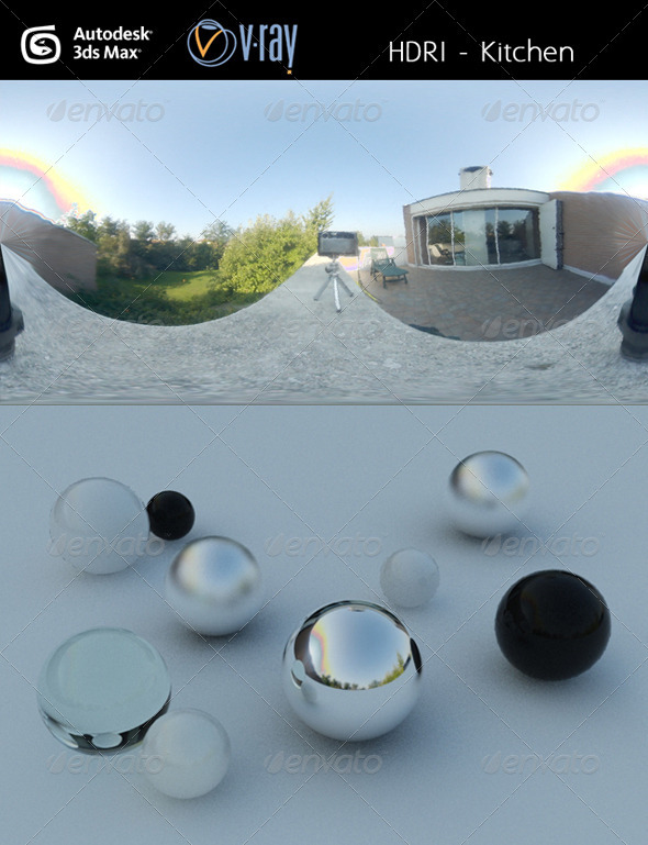 HDRi - Terrace - 3DOcean Item for Sale