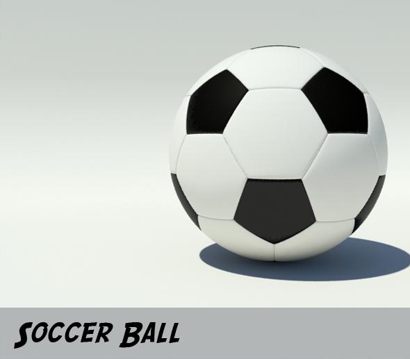 3DOcean Soccer Ball 109210
