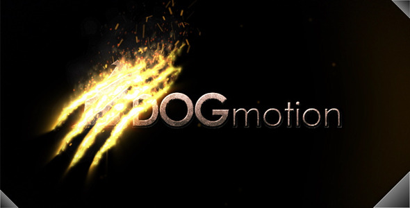 VideoHive Fire Scratched Logo 3077020