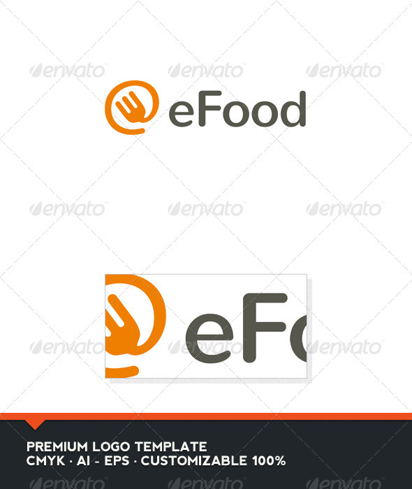 eFood Logo Template