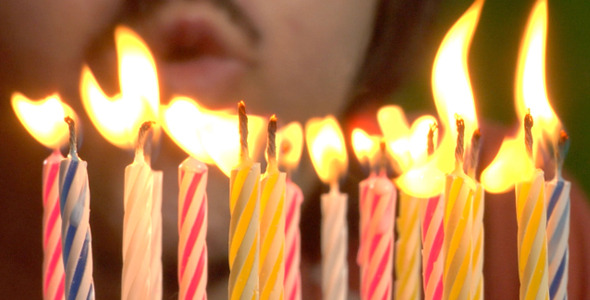 Birthday Candles 4