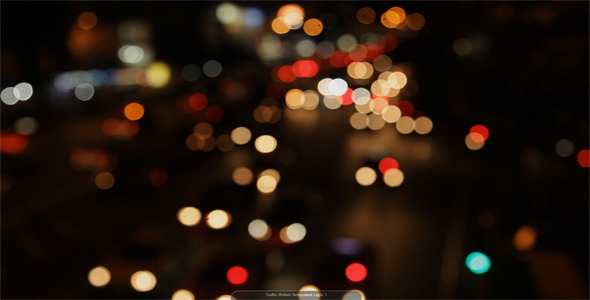 Traffic Bokeh Defocused Light 3