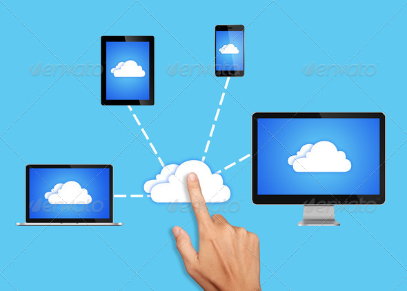 PhotoDune Cloud Computing Network 3078082