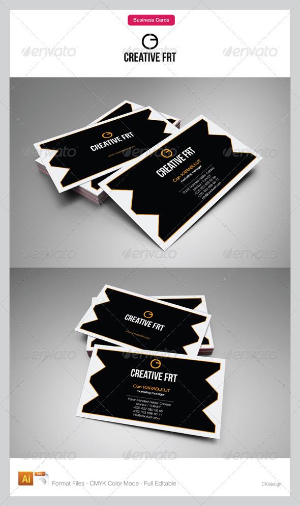 Corporate Business Cards 77 - Corporate Business Cards