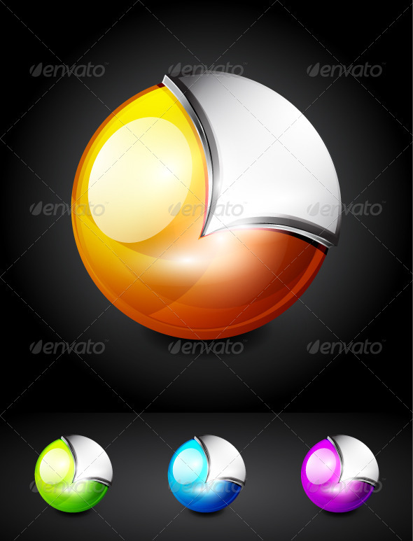 Glossy Sphere Icons