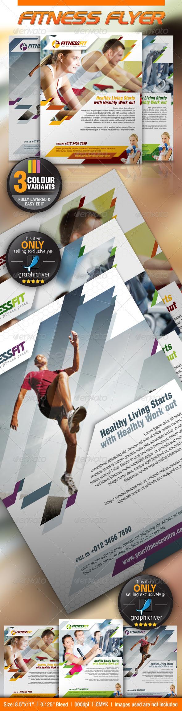 GraphicRiver Sport Flyer 2570232