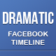 Dramatic FB Timeline Cover - GraphicRiver Item for Sale