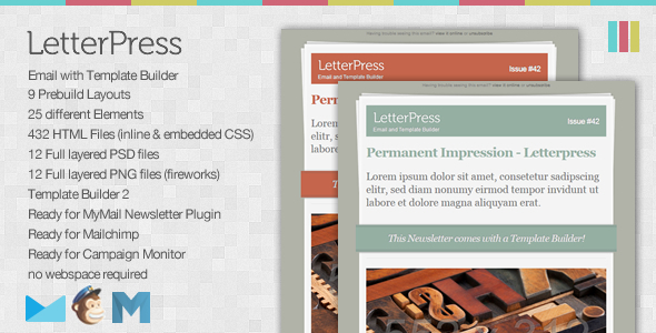 ThemeForest LetterPress Email and Template Builder 1213194