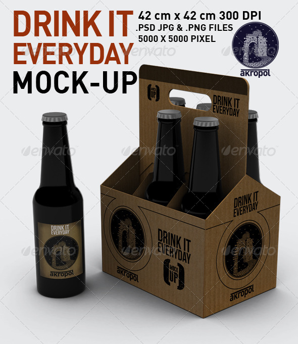 GraphicRiver Drink it Mock Up 3056577