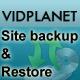 Vidplanet Plugin : Site Backup & Restore - WorldWideScripts.net objekt till försäljning